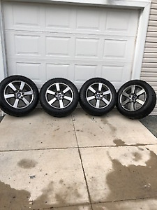 2017 GENUINE FORD OEM 20 INCH WHEELS AND TIRES