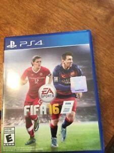 PS4 FIFA 16 Playstation 4 Video Game Mint Condition