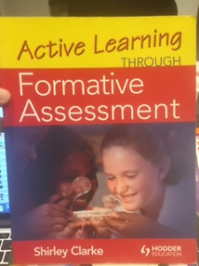 Active Learning Through Formative Assessment, teachers 1/2 price