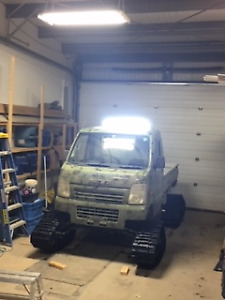 2002 Ultimate Tracked Hunting Mini Truck