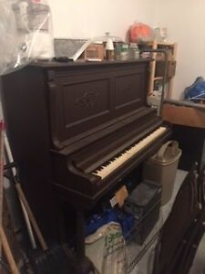 Older Stand-up Piano - refinish or recycle