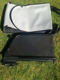 BMW Mini Cooper Convertable Wind Deflector and storage bag