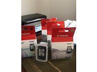 Canon Pixma printer ink cartridges - as new
