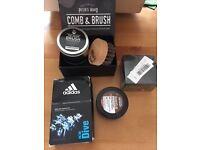 New Mens Beard Accessories and Adidas Eau De Toilette