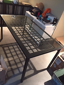 Glass-topped Table - Ikea Granas