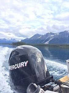 75hp Mercury Outboard 2008 - low hours