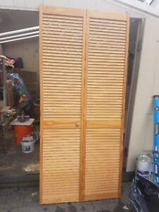 Natural Pine Interor/Closet Bi-fold Door - 30 in. x 80 in.
