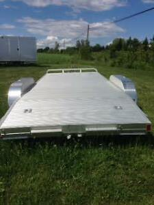 All Aluminum 7x18' Car Hauler