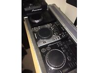 4 Deck Set Up - 2xCDJ350 + DJM350 + 2x CDJ400's (CAN SELL TOGETHER OR SEPARATELY )