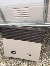 Gas heater for caravan