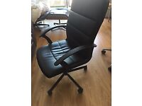 Nearly New Condition Ikea Torkel Office Swivel Chair Black