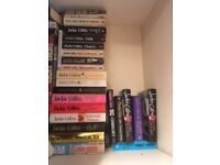 Over 20 Jackie Collins books