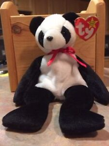 Ty Beanie Babies - Fortune the Panda - Retired