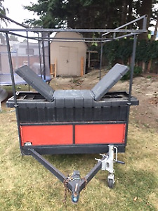 Fall Special - Utility Trailer comes with 12' fishing boat