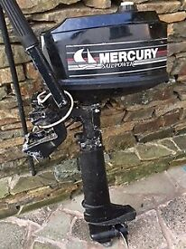 MERCURY 4hp SAILPOWER OUTBOARD
