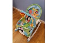 Fisher Price Baby Potable Rocker and Seat