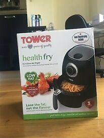 Tower T17005 Air Fryer with Rapid Air Circulation System, 1350 W, 3.2 Litre, Black