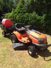 Ride on mowers husqvarna Aldgate Adelaide Hills Preview