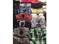 Designer mens shirts, tshirts, jumpers etc