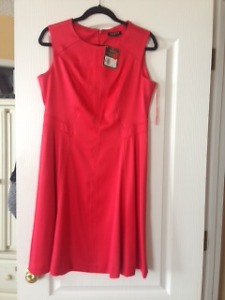 Red Jessica Fit & Flare Dress