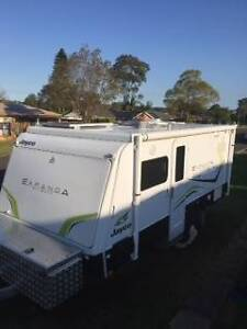2014 Jayco Expanda Outback 16.49-3 With Ensuite St Andrews Campbelltown Area Preview
