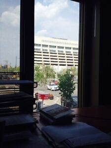 Private Window Office Downtown in D3 CoWorking Centre