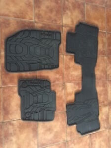 New rubber floor mats out of a 2016 Ford Edge