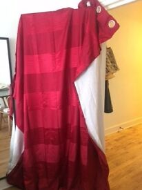 Red Curtains For Sale