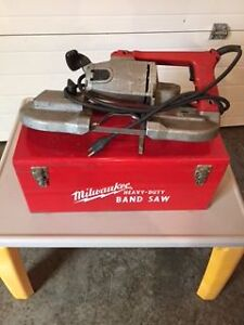 Milwaukee Band Saw and case