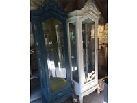 Glass Fronted Display Cabinet (1 of 2)