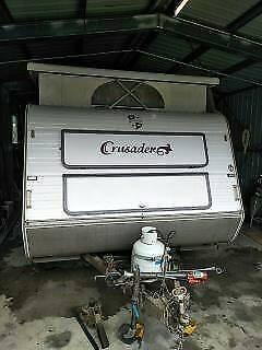 1999 Monarch Crusader Pop Top caravan