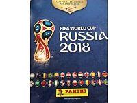 Panini World Cup Sticker Book Russia 2018 Fifa World Cup