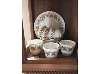 Wedgewood Vintage Ivy House complete tea set