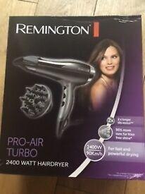 Remington PRO-AIR TURBO 2400 WATT HAIRDRYER *BRAND NEW BOXED* £18