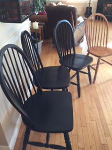Kitchen Maple Chairs