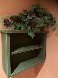 Wood shelf from Cox & Ciccone Interiors Inc