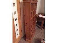 Pine Cd rack