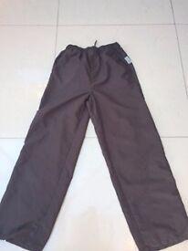 "Girls Brownie Trousers - Make David Luke - Waste 75cm (30"")"