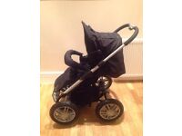 mutsy urban rider pushchair travel system chassis seat rain cover