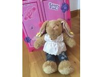 Build-a-Bear rabbit, Furshionista wardrobe with clothes, shoes and accessories