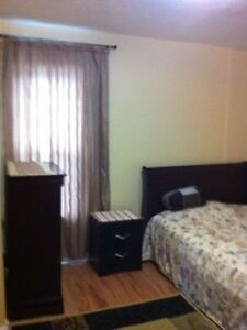 Furnished room,great location, available May 12. Female only