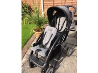 Cosatto Tandem Double Pushchair including raincover