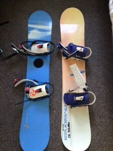 Ladies Division23 Snowboard and Bindings, Good condition