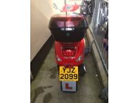 SORVIO 125 SCOOTER