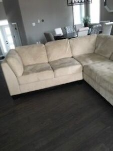 Sectional in good condition