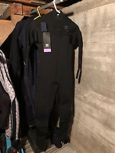 Brand New Billabong 4/3 Medium Revolution Wetsuit