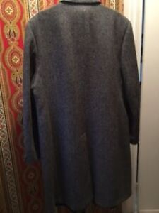 A. Gold & Sons Gray Wool Coat Size 44 - Excellent Condition West Island Greater Montréal image 3