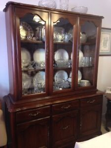 Gibbard buffet and china cabinet