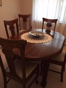 Oak Dining Suite Mount Riverview Blue Mountains Preview