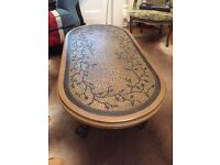 Italian Style Coffee Table For Sale